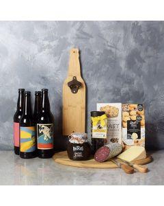 Beer & Cheese Lover's Basket