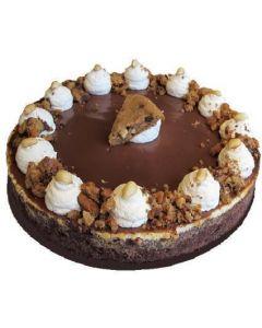 Peanut Butter Caramel Cheesecake