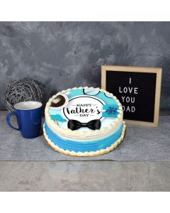 Deluxe Father's Day Cake, fathers day gift baskets, fathers day gifts, gourmet gift baskets, gifts
