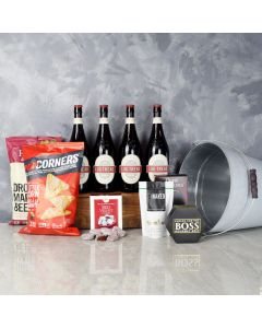 Cheese, Chips & Beer Gift Set, beer gift baskets, gourmet gift baskets, gift baskets