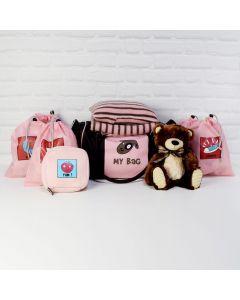 LIL BABY GIRL ARRIVAL GIFT SET, baby girl gift hamper, newborns, new parents