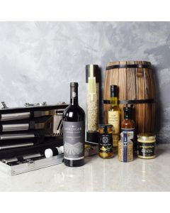 Mediterranean Grilling Gift Set with Wine, gift baskets, gourmet gifts, gifts, wine