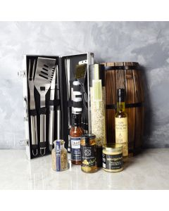 Mediterranean Grilling Gift Set, gift baskets, gourmet gifts, gifts
