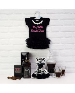 BABY GIRL'S STYLISH CELEBRATION SET, unisex gift hamper, newborns, new parents