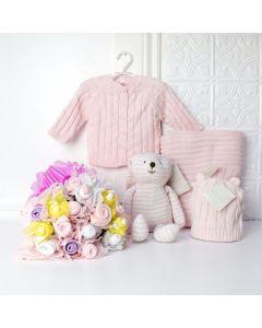 Custom Baby Girl Gift Basket