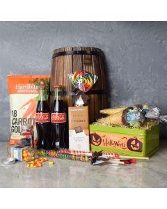 Gourmet Halloween Treats Basket