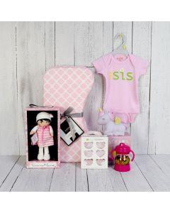 SWEET LI'L GIRL GIFT SET, baby girl gift hamper, newborns, new parents