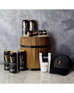 Barrel & Beers Gift Set, beer gift baskets, gourmet gift baskets, gift baskets, gourmet gifts