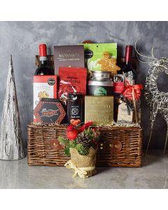 Christmas Wine Bounty Basket
