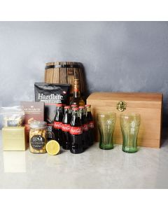 West End Treasure Gift Box with Liquor, gift baskets, gourmet gifts, gifts, liquor
