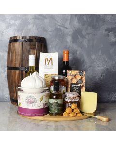 Little Italy Deluxe Wine Basket