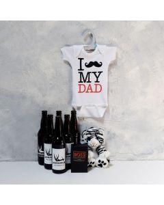 FATHER'S CELEBRATION SET, baby boy gift hamper, newborns, new parents