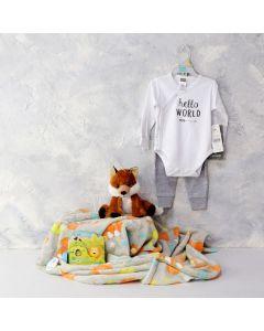 BABY'S ADVENTURE & PLAYTIME GIFT SET, baby boy gift hamper, newborns, new parents