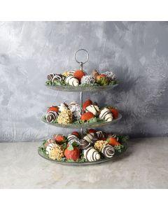 Indulgent Chocolate Dipped Strawberries Gift Set