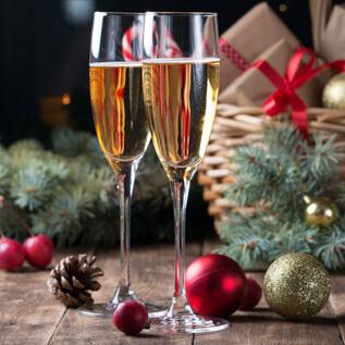 Champagne gift baskets Penbryn